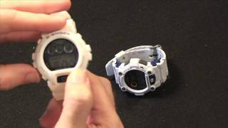 Video Casio G-Shock GW-6900 & G-7900 Watch Review
