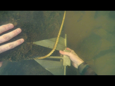 Freediving in Murky Water for River Treasure! - Anchor, Fishing Tackle, Zipline and More!