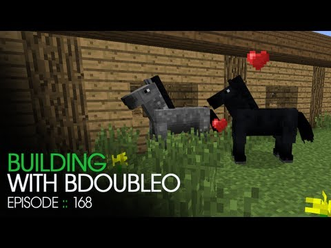 Minecraft Building with BdoubleO - Episode 168 - Horse Breeding