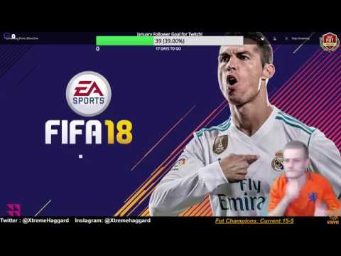 Games 20-25! FUT Champions Week end league!!! Fifa 18 Xbox Live Ft. Pele and Cr7 with Gullit!
