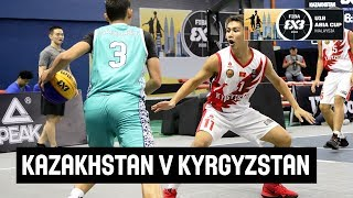 FIBA 3x3 Asia Cup U-18 among men's teams 2018 - Group stage: Kazakhstan - Kyrgyzstan