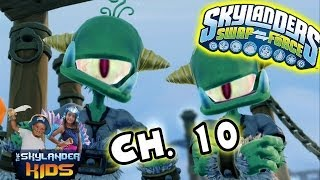 Let's Play Skylanders Swap Force: Part 12 Boney Islands