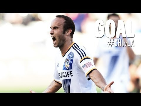 GOAL: Landon Donovan smashes home Rogers' cross | Chicago Fire vs. LA Galaxy