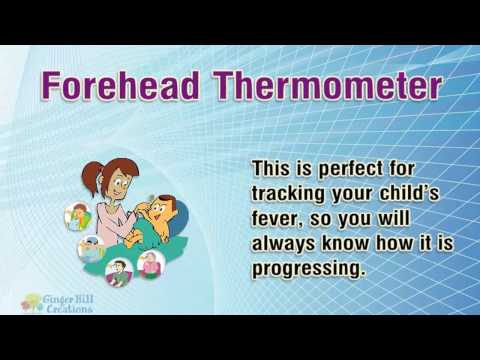 Forget Under the Tongue and the Rectum ~ There's a New Thermometer in Town