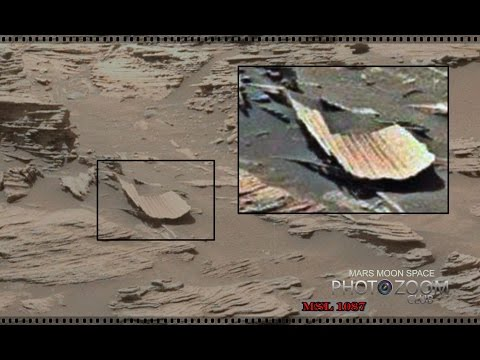 Wonderful but weird Mars images. Curiosity anomalies