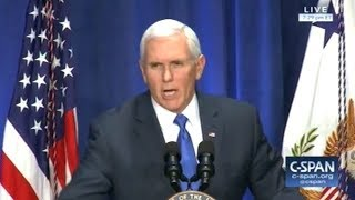 """Mike Pence """"Science Is Our Friend In The Cause Of Human Life"""""""