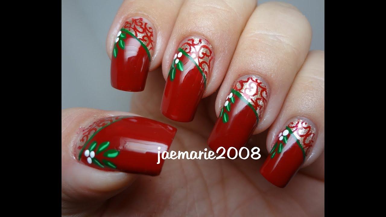 Youtube Nail Design Christmas 120
