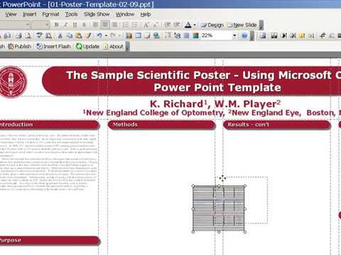 how to create poster presentation medicine