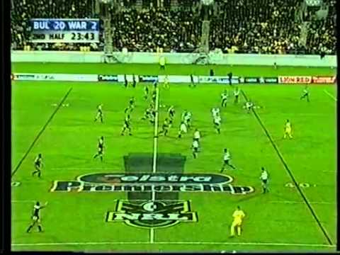 Warriors Bulldogs 2001 - best comeback ever? 16 points in 5 minutes