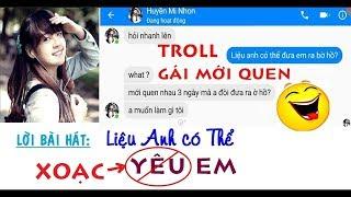 Troll gái mới quen bài Liệu Anh Có Thể Yêu Em - Khắc Việt (Cover)