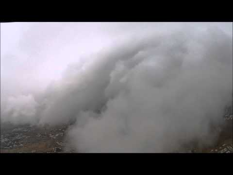 Dji Phantom 2 Viosin above the clouds  Oman
