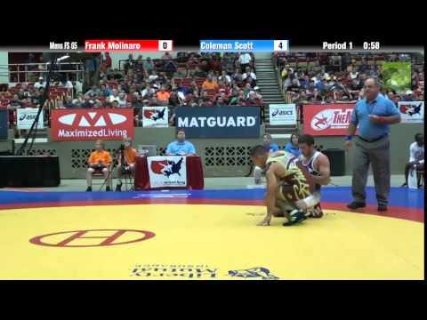 65 KG - Frank Molinaro vs. Coleman Scott