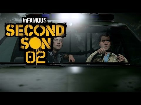 Let's Play inFamous: Second Son (PS4) - #002 - Sperrenbau der anderen Art!