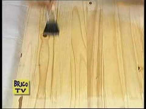 Come verniciare il legno grezzo