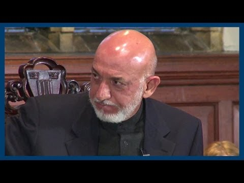 Corruption | Hamid Karzai | Oxford Union