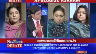 The Newshour Debate: Apologise Asaram (Full Episode)