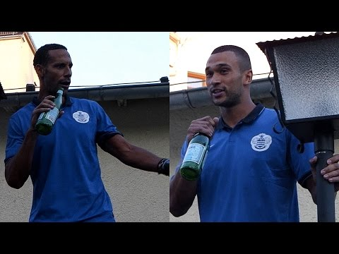 RIO FERDINAND AND STEVEN CAULKER INITIATION SONGS