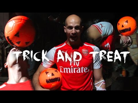 Football Skills Halloween Prank | Tricks AND Treats!