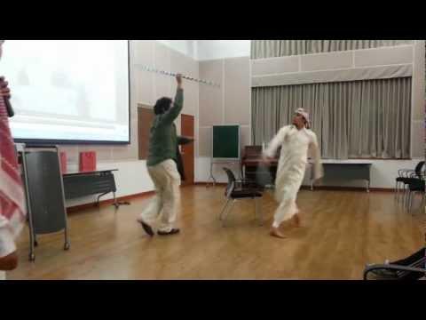 الرقص الحجازي في العرض السعودي بكوريا