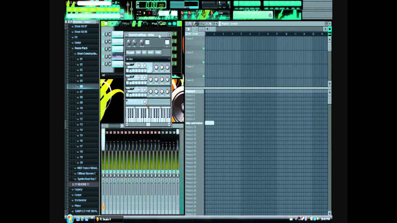 how to add automation clip in fl studio 12