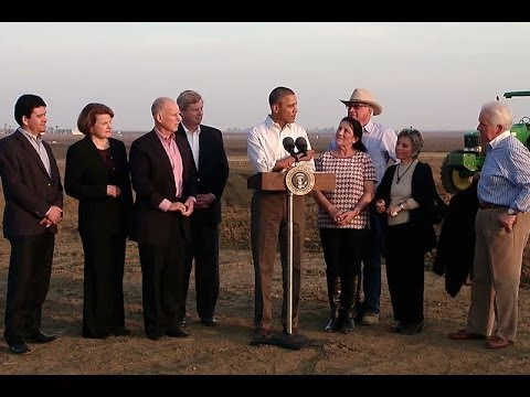 President Obama Speaks on Response to the California Drought