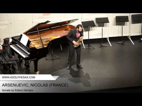 Dinant 2014 - ARSENIJEVIC, Nicolas (Sonate by Edison Denisov)
