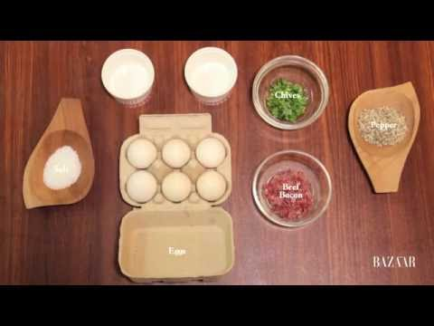 Harper's Bazaar Food: Baked Eggs