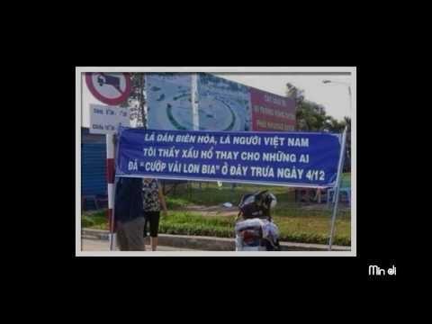 Hát chế vụ hôi của xe chở bia của người dân Biên Hòa.