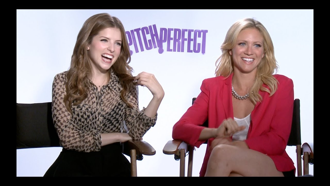 Brittany Snow and anna kendrick interview