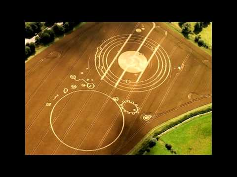 ISON and Sun Connection to Crop Circle (Blue and Red Kachina)