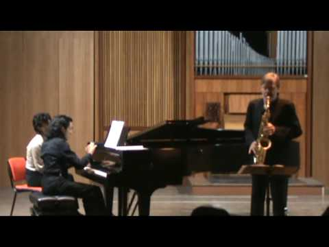 HINDEMITH Sonata for sax and piano – part III