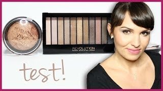 *TEST NA ŻYWO - Makeup Revolution | Essence*