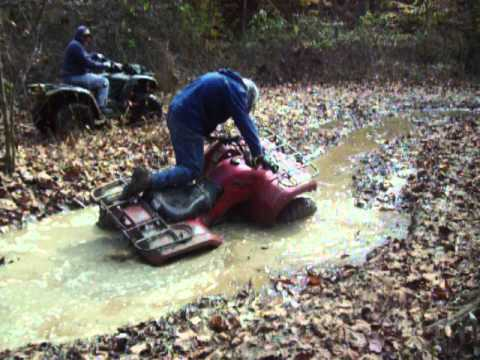 royal atv trail in ky /Yamaha 350 bruin 4x4  and honda 420 4x4