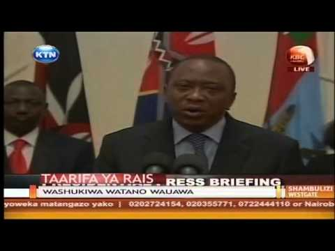 Kenya has triumped over terrorists -  Uhuru Kenyatta (Full Speech)