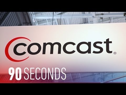 Comcast's ridiculous argument for buying Time Warner Cable: 90 Seconds on The Verge