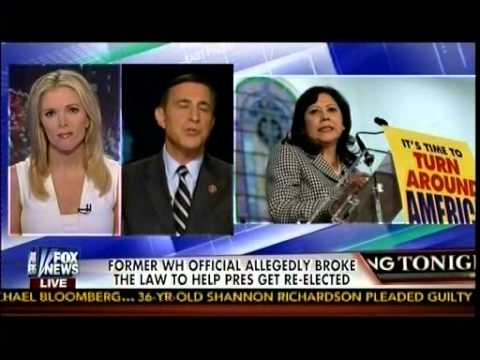 Former WH Official Allegedly Broke The Law To Help Obama Get Re-Elected - Issa - The Kelly File