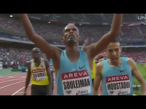 Souleiman wins 1500m, Americans in standards in Paris Diamond League - Universal Sports