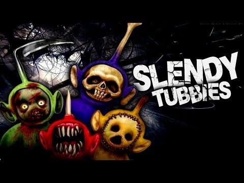 Играем в slendytubbies ii 1 мы развлекались