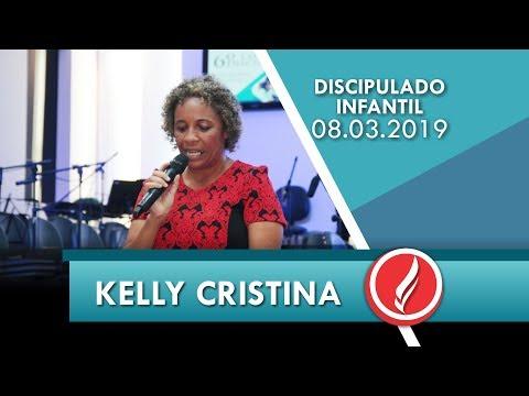6º C. Discipulado | Kelly Cristina | A importância do discipulado infantil na família | 08 03 2019