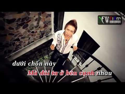 Karaoke HD ] Không Thể Bên Em   Châu Khải Phong Full Beat   YouTube