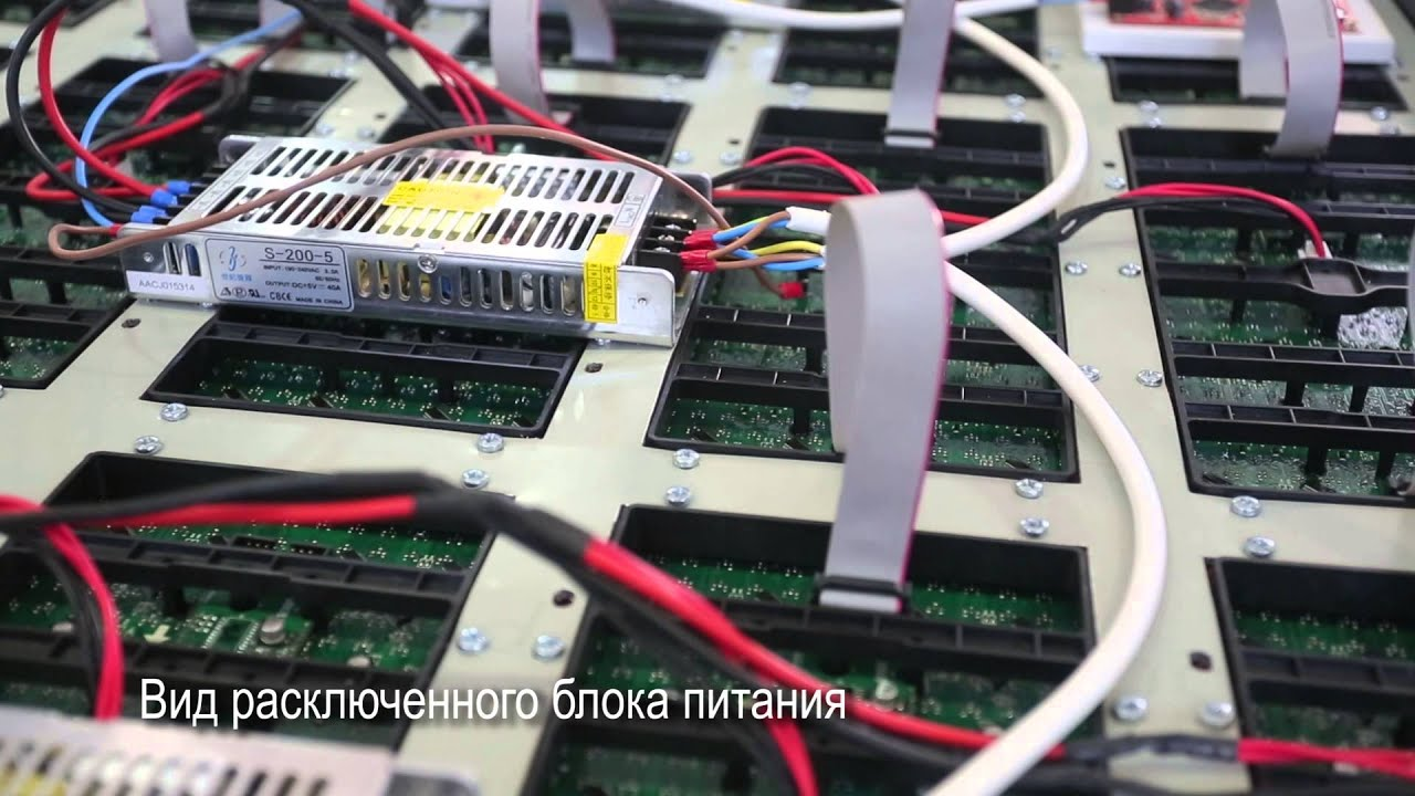Бегущая строка своими руками из led модулей