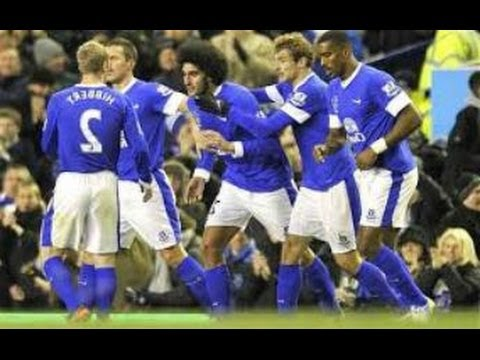 Everton vs Manchester City 2-3 (03-05-2014) Goals: Barkley, Lukaku, Aguero, Dzeko