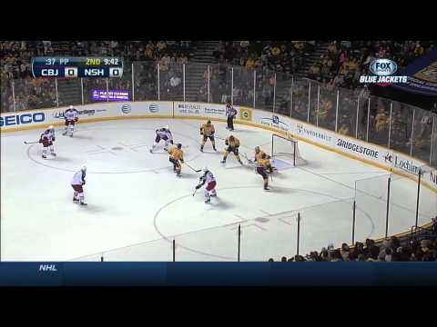 Columbus Blue Jackets vs  Nashville Predators 08.03.2014