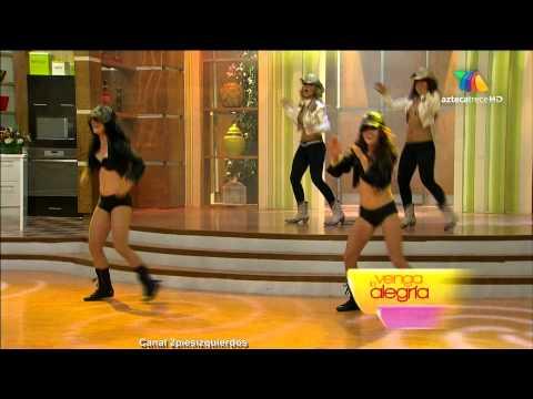 Full HD ¡El ballet de venga la alegría bailando!