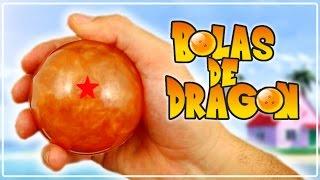 Como hacer bolas de Dragon Ball