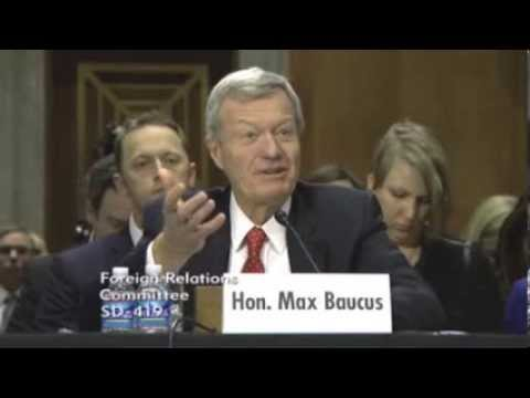 Max Baucus: Not exactly prepared to be Ambassador to China