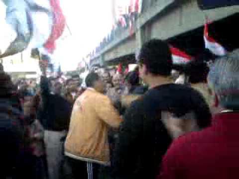 فيديو متظاهرين العباسية يرقصون على 3 ستلا