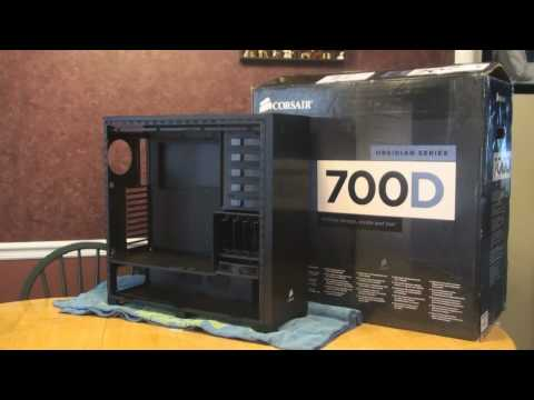 Corsair Obsidian 700D Modification to fit the EVGA Classified SR-2 Motherboard