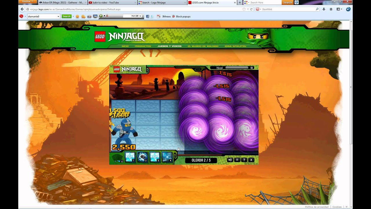 Cheats For Ninjago Viper Smash
