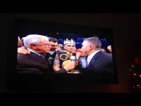 Broner vs maidana post fight interview with adrian broner g